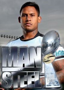 Ben Barba wins the Man of Steel award